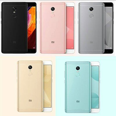 "Xiaomi Redmi Note 4X (3GB+32GB) 13MP 5.5"" Dual SIM Standby 4G Android Smartphone"