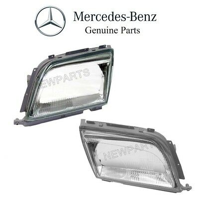 For Mercedes R129 500SL 600SL Pair Set of Left & Right Headlight Lens Genuine for sale  Shipping to Canada
