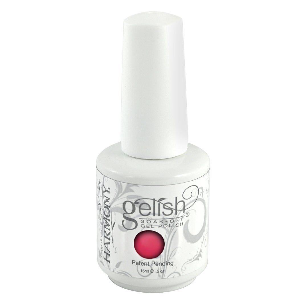 Gelish Soak off gel polish 0.5 oz ALL COLORS