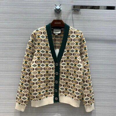 Gucci unisex vintage-style cardigan, Size M