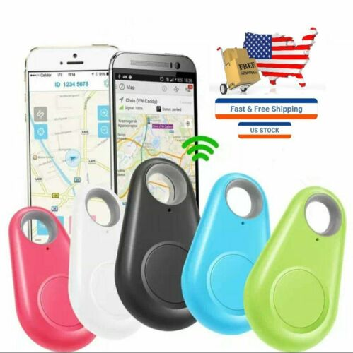 Mini Pet Dog Cat Bluetooth Locator Tracker Tracking Anti-Lost Device $5.99 COLOR