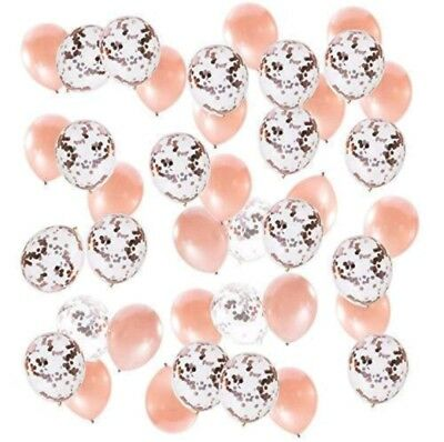 Balloons for Wedding, Bridal and Baby Shower, Sweet Sixteen, Quinceañe.Rose Gold - Sweet Sixteen Balloons