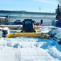 Snow removal and hauling services