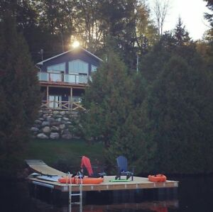 Waterfront 4 Season Family Cottage For Rent