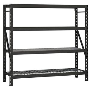 Husky steel Commercial Shelving Unit ( Very Good Condition)