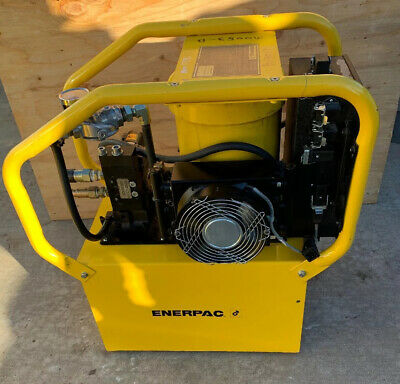 Enerpac Electric Hydraulic Pumppower Pack Gper5440jfklv Gper 5440 480v 10000