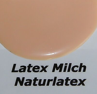 1Liter Latexmilch HAUTFARBE Ammoniakfrei Naturlatex Flüssiglatex HAUT Gummi