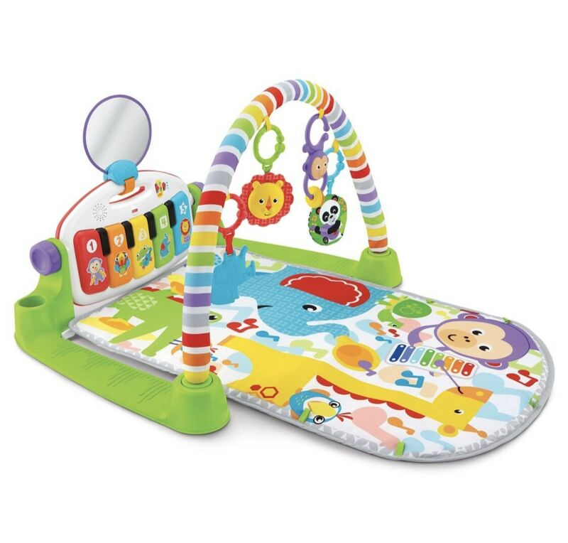 Fisher-Price Deluxe Kick and Play Piano Gym - NEW!