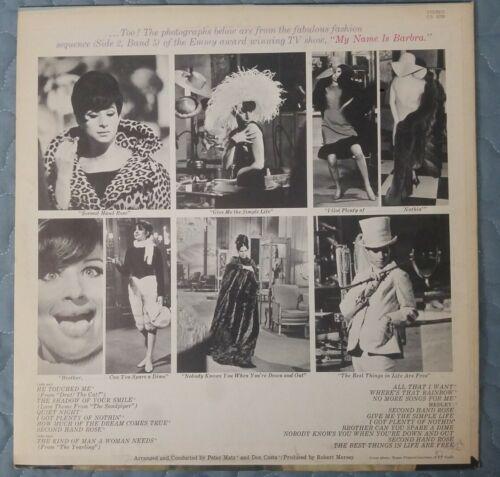Barbra Streisand My Name Is Barbra, Two Vinyl LP Album 1965 Columbia Records - $17.99