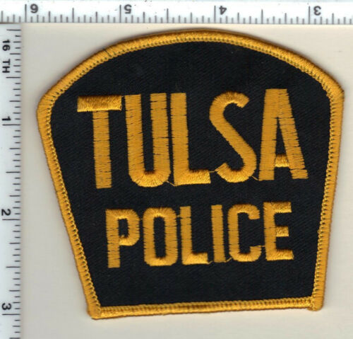 Tulsa Police (Oklahoma) Shoulder Patch - new from 1997