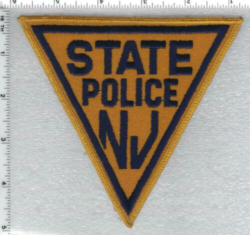 New Jersey State Police Uniform Take-Off Shoulder Patch from the 1980