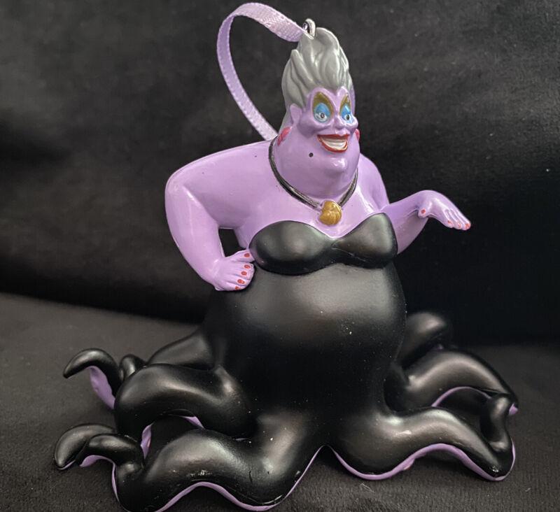 Disney The Little Mermaid Ursula Christmas Ornament Octopus Villian