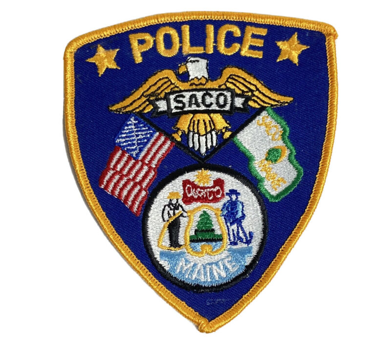 SACO MAINE POLICE PATCH