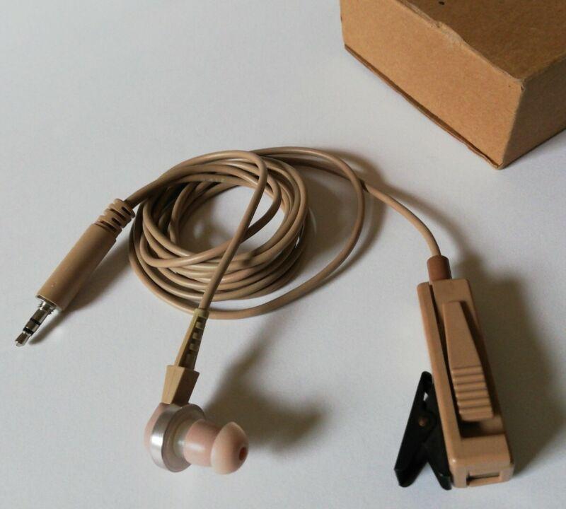 OEM Motorola BDN6667A 2-Wire PTT SURVEILLANCE EARPIECE+MIC KIT w 3.5mm Connector