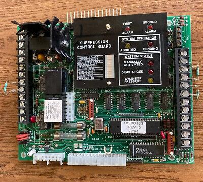 Thorn Kidde Firequest 900688 Master Halon Board. Fire Alarm System.
