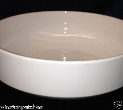 "RORSTRAND SWEDEN CHRISTIAN VON SYDOW IVORY ROUND SERVING BOWL 10 1/2"" ALL WHITE"