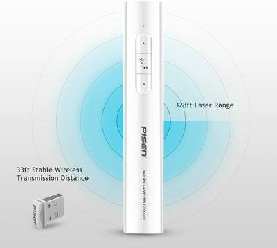 Pisen Laser Charging Pen Ii 2500mah Wireless Laser Pointer Power Bank