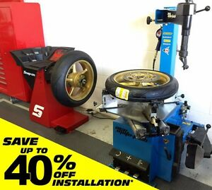 ★ Touchless Motorcycle Tire Installation & Computer Balancing ★