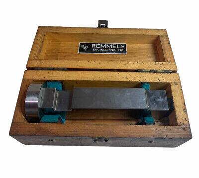 Master Gage Gauge Block Machinist Tooling Wood Case Remmele Vintage