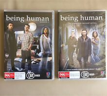 """DVDs - """"Being Human"""" S1 & S2 Warners Bay Lake Macquarie Area Preview"""