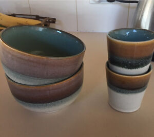 Ceramic bowls and cups Sunrise Beach Noosa Area Preview