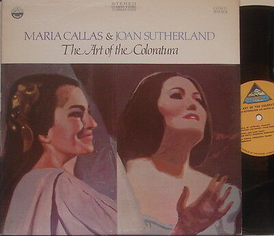 "Maria CALLAS & Joan SUTHERLAND ""The Art of the Coloratura"" - Everest 3293"
