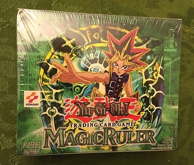 1st Edition Magic Ruler Factory Sealed 24 Pack Booster Box - MINT - English!!