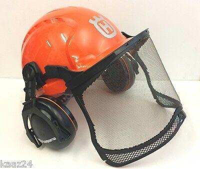 Genuine HUSQVARNA Chainsaw Safety Helmet Basic - Brand New