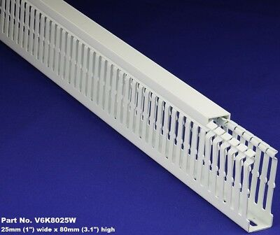 10 Sets-1x3x2m White High Density Premium Wiring Ducts And Covers -ulcsace