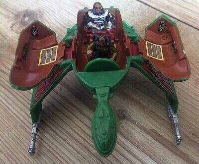 Star Trek TNG Innerspace Series Klingon Bird of Prey And Figures by Playmates