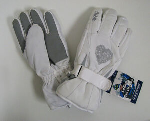 Women's Ski Gloves Snow Winter Insulated Waterproof Warm One Size Fits Most New