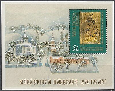 MOLDOVA :2000 Christmas Miniature Sheet SG MS380 unmounted mint
