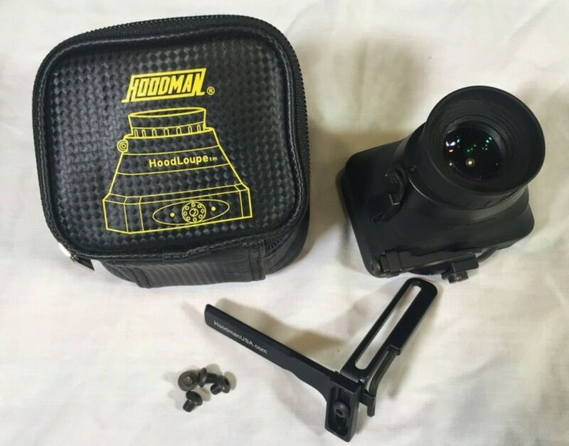 Hoodman Live View Kit with original case for all DSLR Cameras