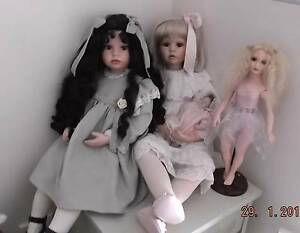 DOLLS. All collector porcelain and Re-born dolls for sale. Narre Warren South Casey Area Preview