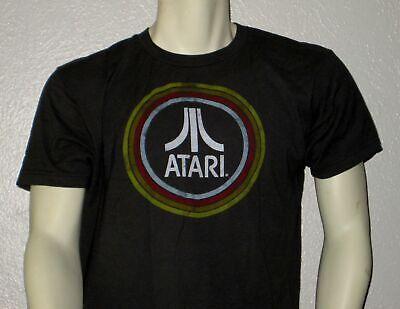 "ATARI T-Shirt Dark GREEN ""Ripple Junction"" Large L Cotton"