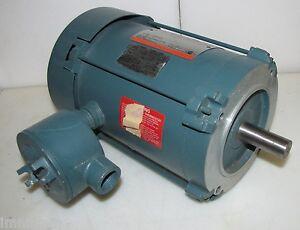 Reliance 1hp Electric Motor Hazardous Locations 208 230