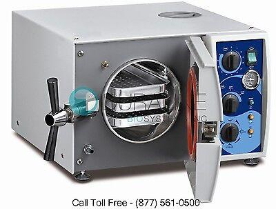 Tuttnauer Valueklave 1730 Autoclave Steam Sterilizer W1 Year Warranty Brand New