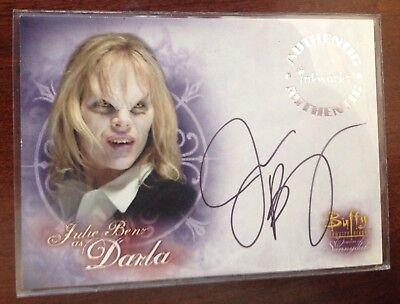 Buffy the Vampire Slayer Autograph Card A-8 Julie Benz as Darla