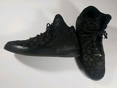 save off 142f6 55cc0 Nike Lebron James NSW Lifestyle Black Shoes High Top Sneaker 616766-003  Size 8