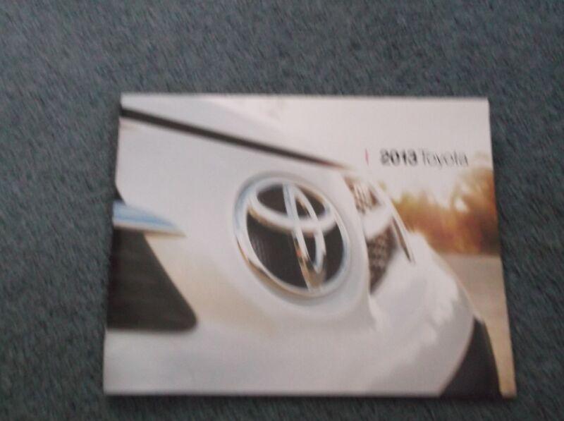2013 Toyota Brochure