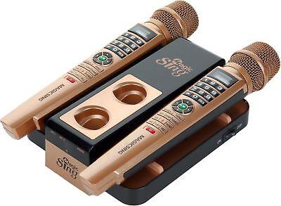 2018 E5 WiFi Streaming 2 Wireless MAGIC MIC Karaoke FREE 12000 English Songs