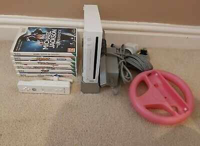 Nintendo Wii Console Bundle With 6 Games & More - PAL