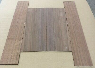 Straight grain Claro walnut Parlor acoustic guitar back and side set #42320-12