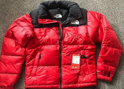 THE NORTH FACE ICONIC NUPTSE 1996 ORIGINAL DESIGN JACKET RED/BLACK XXS BRAND NEW