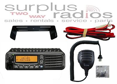 Icom Idas F5220d Mobile 50w Vhf 136-174mhz 128ch Digital Analog Ham Multi Site