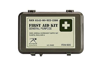 Rothco 8335 Brand New Olive Drab General Purpose First Aid Kit