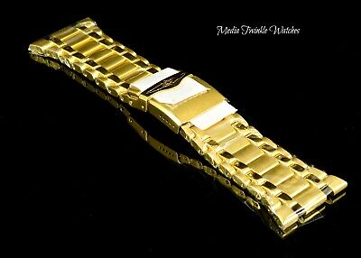 NEW Invicta Bolt Zeus MAGNUM Gold REPLACEMENT Bracelet !