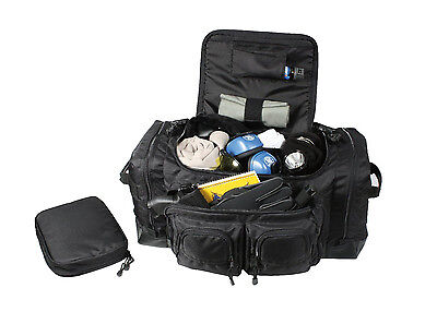 Rothco Black Deluxe Police Law Enforcement Equipment Gear Bag 8149