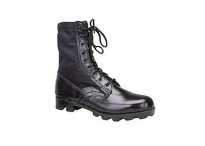 Black GI Style Jungle Boot With Panama Sole And Steel Toe 5781 Rothco Gi Style Jungle Boots
