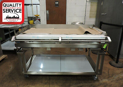 Vulcan 60rrg-ckr1 Commercial Heavy Duty Gas Griddle W Equipment Stand